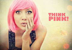 Think Pink! (Desire Delgado) Tags: pink portrait girl self hair think bob rosa wig autorretrato pelo piensa after365 desireedelgado
