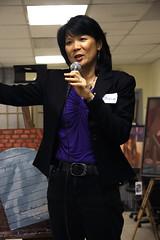 Olivia Open House & Art Show (Olivia Chow) Tags: city toronto ontario canada art downtown politics ndp politician local mp kensington openhouse federal oliviachow memberofparliament trinityspadina newdemocratic