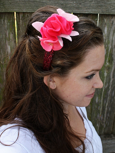 In Love with Pink Headband