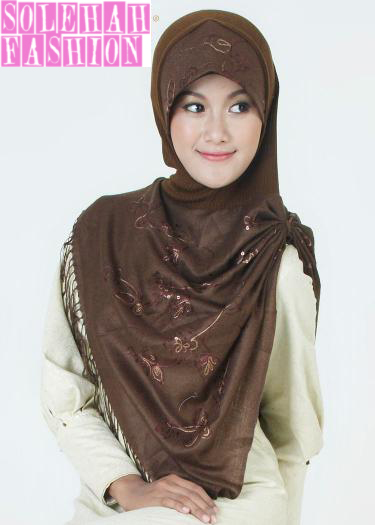 Hawa Dark Brown Hijab