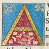 "Decorated initial ""A"" in Scriptores historiae Augustae"
