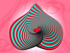 ~ pre- Valentines Gift ~ (ViaMoi) Tags: art modern digital photoshop design heart smoke spin free creativecommons gradient valentines swirl valentinesday saintvalentine viamoi