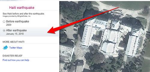 Bing Maps - After Haiti Earthquake Image