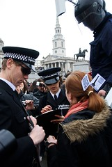 Stop & Search (edwardhorsford) Tags: london square photography photo photographer protest trafalgar terrorist gathering mass not 18200mmvrdx