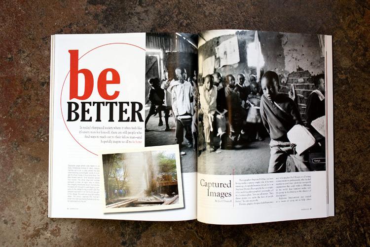 Image of Featured:  B-Metro Magzine