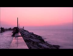 Evening Bliss ... (Madhu_kannan) Tags: sunset beach evening kerala madhu calicut beypore pulimuttu