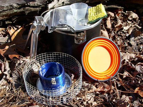 My Hiking Cook Kit