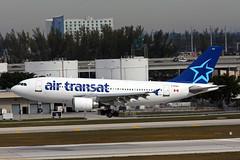 A310.C-GTSH (Airliners) Tags: airbus 310 fll a310 airtransat 1710 airbus310 cgtsh a3103