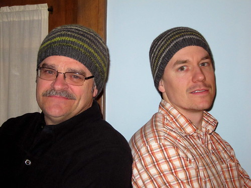 "Twin ""Turn a Square Hats"""