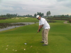 Golf at Grand Royale last saturday