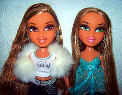Forever Diamondz Yasmin & Fianna - same facial screening (Fashion_Luva) Tags: fashion dolls forever yasmin bratz fianna diamondz