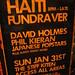 Haiti Fundraver David Holmes Phil Kieran Japanese Popstars Plus Many Many More, 2010-01-26