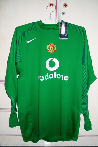 Manchester United 2005-2006 Goalkeeper Home L/S