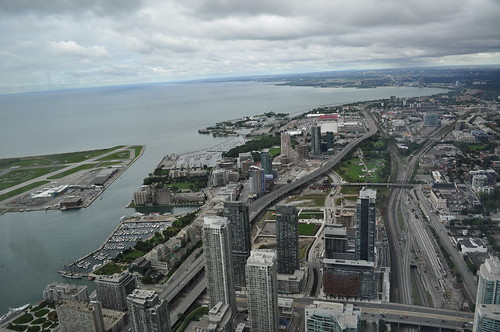 Vistas desde la CN Tower