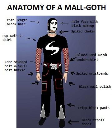 Mall-Goth Anatomy