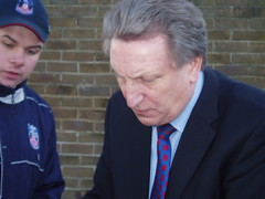 Neil Warnock (suesurridge) Tags: football manager eagles crystalpalace selhurstpark neilwarnock