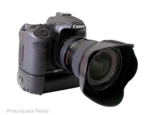 Canon 40D gripped & 17-40 f/4L