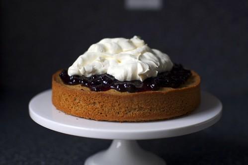 walnut jam cake