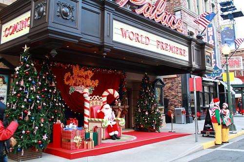 Santa at Universal Studio Japan