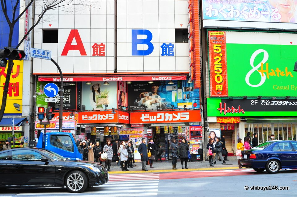 With Yamada Denki's LABI opening, it must have been hard for BIC Camera to compete. Hearing that Sakuraya is leaving Shibuya might help them. Of course if Yodobashi Camera hit Shibuya with a large store that would make it harder still.