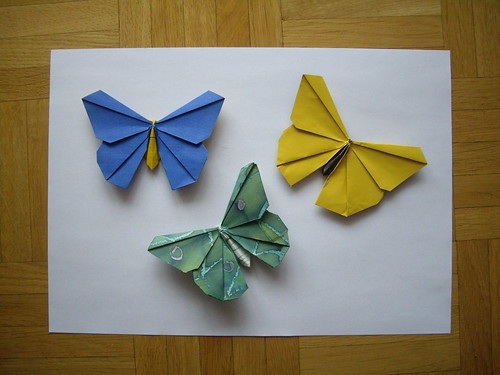 Origamido Butterfly