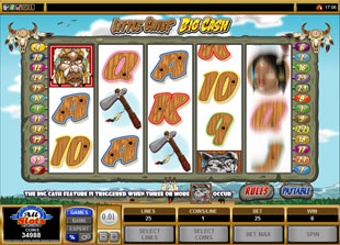 Little Chief Big Cash slot game online review
