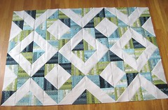 Neptune HST Quilt - pieced top (teaginny) Tags: neptune honeybun