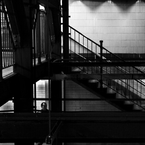 """Across the Platform Nº1"" Brooklyn Heights, New York"