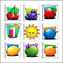 free FruitMania slot game symbols