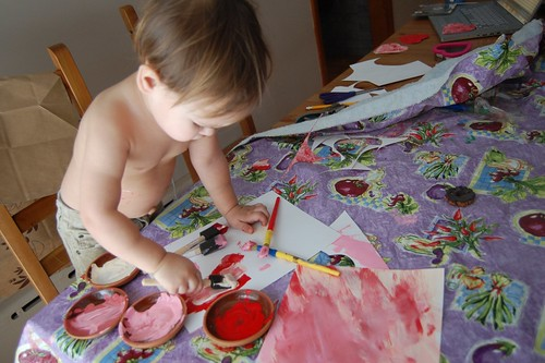 Painting Valentines