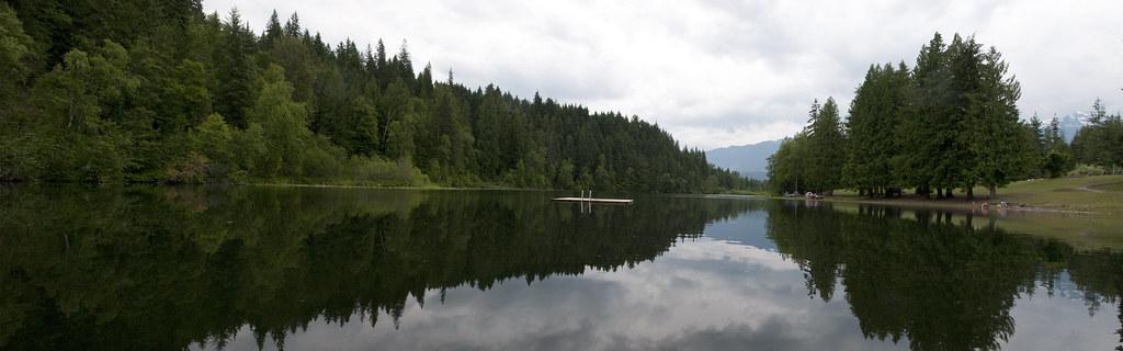 See auf dem Weg von Vancouver auf Banff