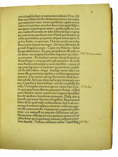 Marginal annotations in Petrarca, Francesco: Secretum de contemptu mundi
