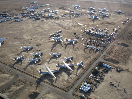Runway One Two: Flying to the Boneyard at Mojave