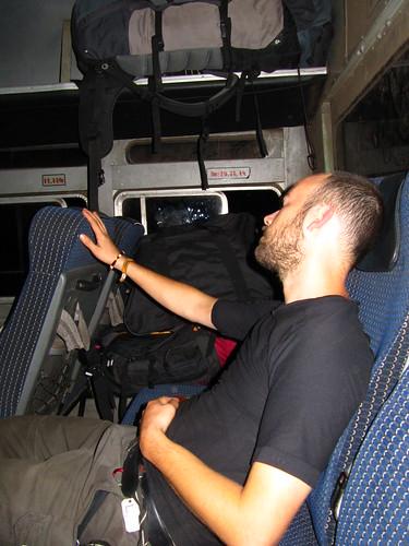 Seekrank im Bus
