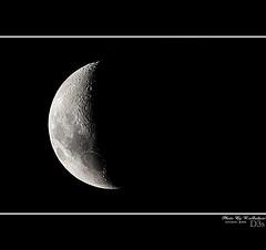 Nikon D3s ( Test DX-format ) (RASHID ALKUBAISI) Tags: sky moon nikon sigma os qatar rashid راشد هلال قمر hsm alkubaisi d3s الكبيسي 150500 ralkubaisi