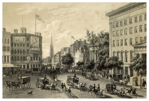 007-Broadway New York 1850-The Eno collection of New York City-NYPL