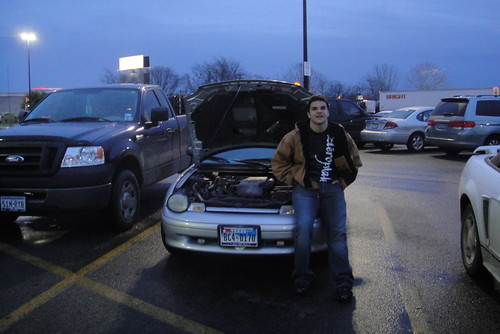 Car battery dead . . .