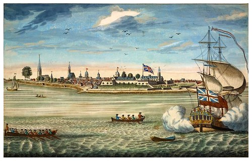 003a-Vista sudoeste de New York 1731-1736-The Eno collection of New York City-NYPL