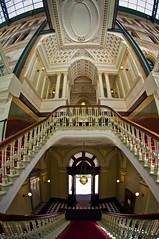 Grand Staircase (.Stephen..Brennan.) Tags: architecture interior sydney 10mm da1017fisheye pentaxk7