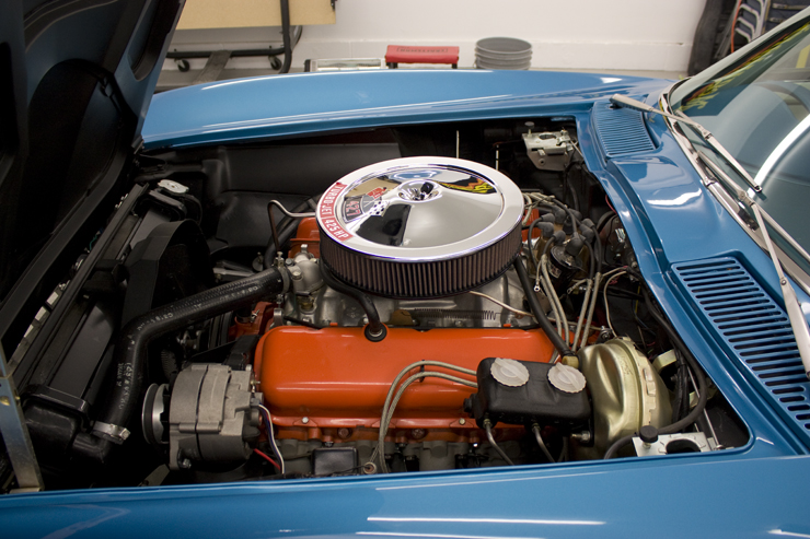 1966 Corvette Sting Ray 427 engine