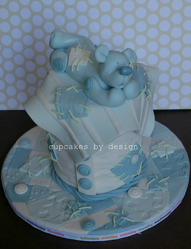 Lucy's Baby Shower Mini Cake