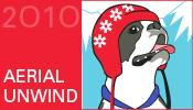 Aerial Unwind medal