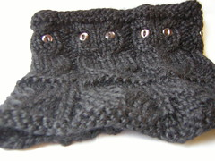 knitted Owl Cowl