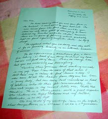 Encouraging letter