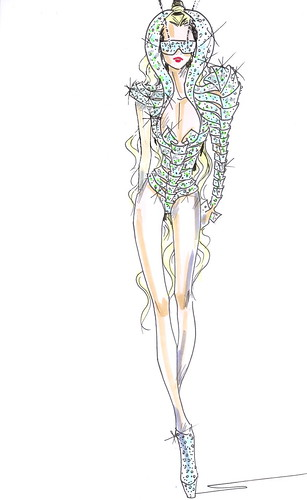 Gaga Sketch 1