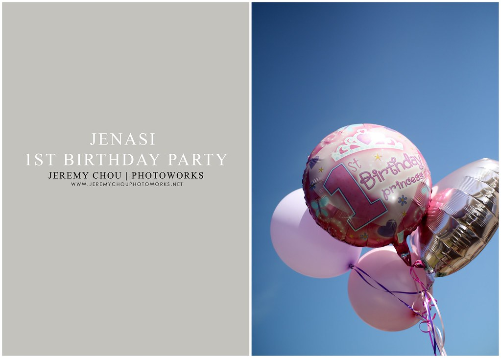 JENASI 1ST BIRTHDAY PARTY BLOG