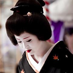 Baika-sai '10 #7 (Onihide) Tags: kyoto maiko geiko teaceremony kitanotenmangu baikasai kamishichiken ichimame  onihide