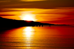 Sunrise in Eskifjörður (*Jonina*) Tags: sea sky reflection clouds sunrise iceland ísland ský himinn hafið speglun eskifjörður sólarupprás eskifjordur anawesomeshot betterthangood beautyunnoticed absolutelystunningscapes artofimages coppercloudsilvernsun