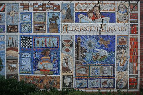 Aldershot Library's Mural