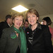 Senator Cynthia Stone Creem and Attorney General Martha Coakley at the Brookline Democratic Town Caucus